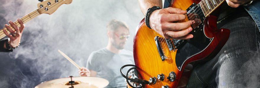Quels sont les principaux instruments pour jouer du rock ?