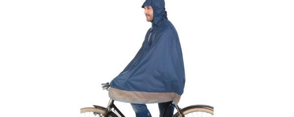 cape de vélo anti-pluie