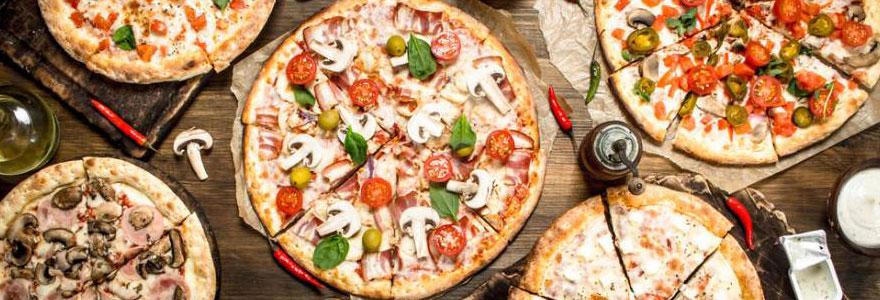 des pizza italiennes