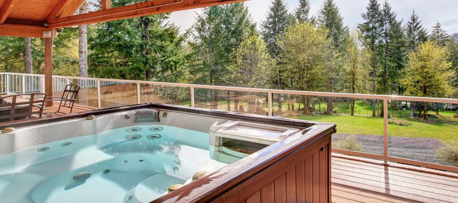 Installation de spa de nage à domicile